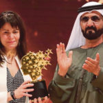 دریافت جایزه ی جهانی یک میلیون دلاری برای تدریس