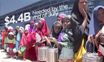 کمک ۱۱۹ میلیون دلاری کانادا برای مبارزه با قحطی
