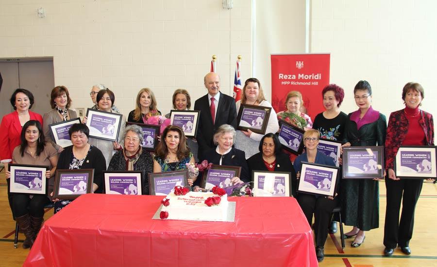 """قدردانی از """"زنان و دختران پیشرو در ساخت جامعه"""" به مناسبت روز جهانی زن"""