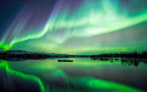 شفق شمالی در سراسر کانادا قابل مشاهده است