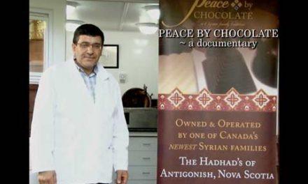 شکلات سازی، روشی برای رساندن پیام صلح به جهان