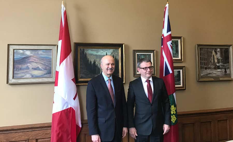 ملاقات وزیر علوم و نوآوری با وزیر خارجه جمهوری چک