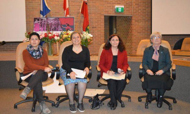 برگزاری روز جهانی زن توسط کارزار زنان علیه خشونت