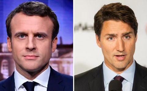 تبریک جاستین ترودو به امانوئل ماکرون در پیروزی انتخابات فرانسه