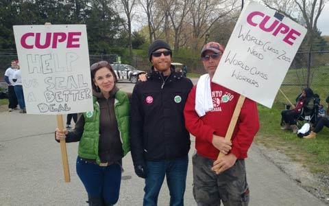اعتصاب کارکنان باغ وحش تورنتو