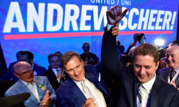 اندرو شیر، رهبر جدید حزب محافظه کار در کانادا