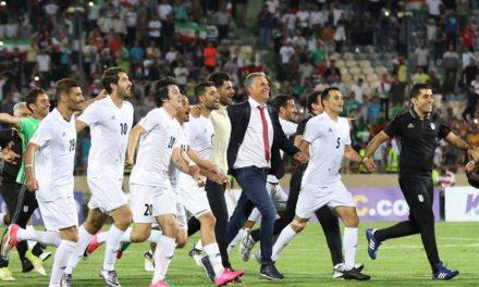شادی ایرانیان از راهیابی تیم ملی فوتبال ایران به جام جهانی
