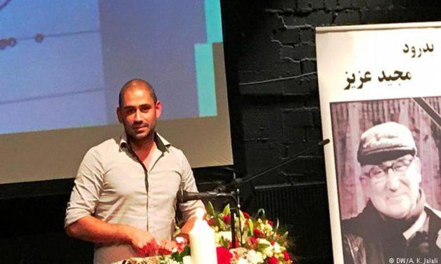 وداع صدها ایرانی با مجید فلاح زاده در محل برگزاری فستیوال تئاتر کلن