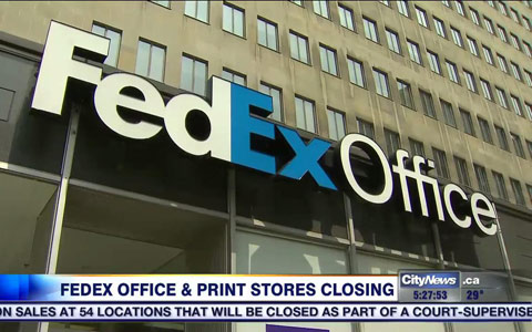 دفاتر پست FedEx در کانادا بسته می شود