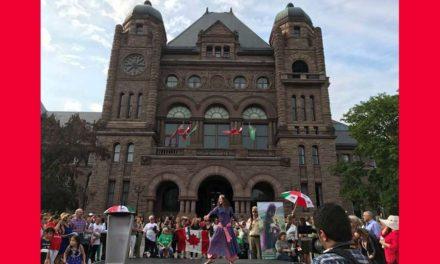 ایرانیان تورنتو یکصد و پنجاهمین سالگرد کنفدراسیون کانادا را جشن گرفتند