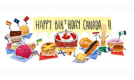 اشتباه گوگل در تولد ۱۵۰ سالگی کانادا