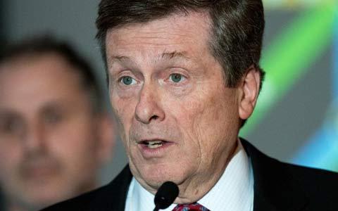 درخواست جان توری شهردار تورنتو در رابطه با قانونی شدن ماری جوانا