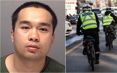 دستگیری یک جنایتکار حرفه ای در مونترال