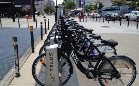 افزایش ایستگاه های دوچرخه در تورنتو
