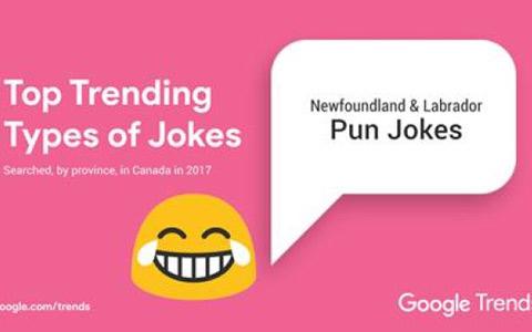 گوگل می داند که شما در هر استان کانادا به چه چیزی می خندید