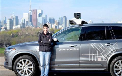 آزمایش ماشین های بدون سرنشین اوبر در تورنتو
