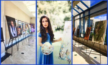 هاله پر از عشق به زندگی و هنر نقاشی بود/محمود معراجی