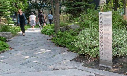 باغ کتاب تورنتو در هاربرفرانت