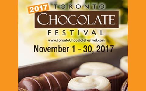 جشنواره شکلات تورنتو ۲۰۱۷
