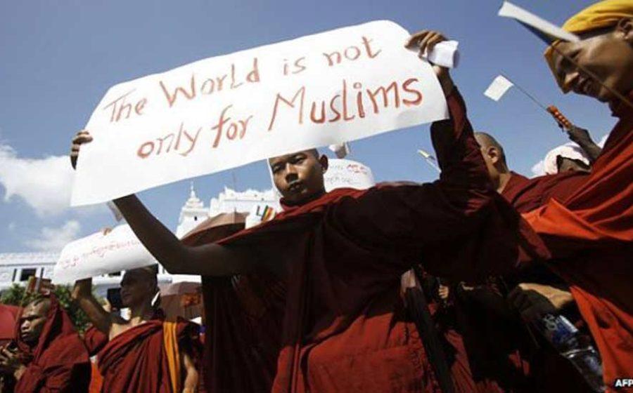 Myanmar-muslim-4-monk-protest