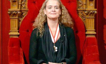 جولی پایت رسما فرماندار کل کانادا شد