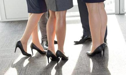 خداحافظی با کفش پاشنه بلند در محل کار
