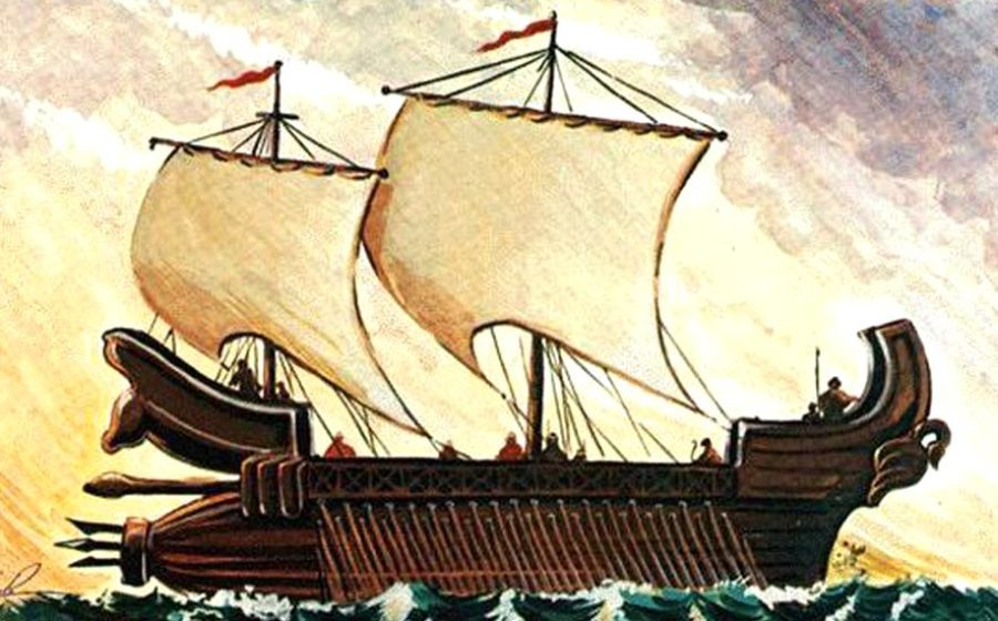 Achaemenid_Battleship