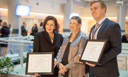 شهناز بصیری یکی از دو برنده جایزه انساندوستانه یKIRSH