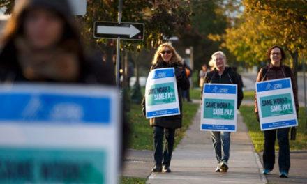 اعتصاب سراسری استادان و کارمندان ۲۴ کالج انتاریو وارد هفته چهارم شد