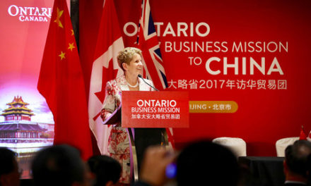 کاتلین وین و قراردادهای تجاری با چین