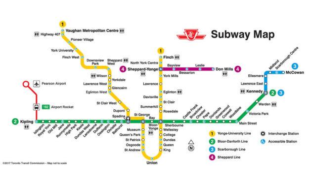 خط متروی جدید تورنتو ۱۷ دسامبر افتتاح می شود