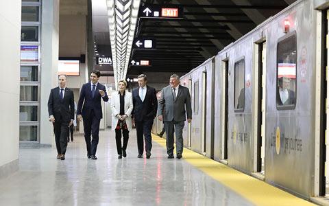 خط جدید متروی تورنتو افتتاح شد