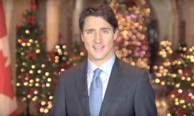 پیام تبریک نخست وزیر کانادا: برای ساختن جهانی بهتر بر ارزش های خود استوار بمانید