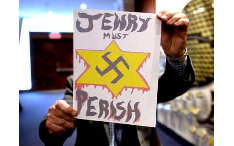 نامه های تهدیدآمیز و سرشار از تنفر به یهودیان کانادا