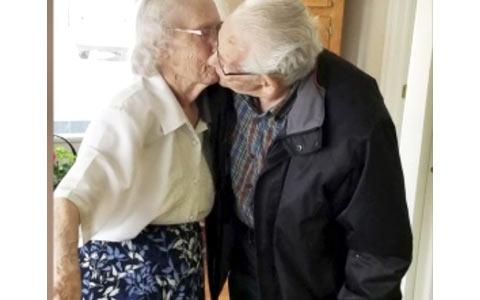 جدایی اجباری یک زن و شوهر بعد از ۷۳ سال