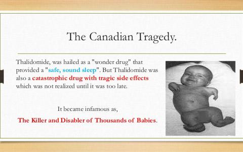 اعتراض قربانیان تالیدومید به عدم حمایت کافی مالی از سوی دولت کانادا