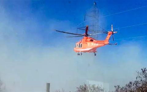 کشته شدن چهار کارمند اداره ی برق در سانحه هلیکوپتر