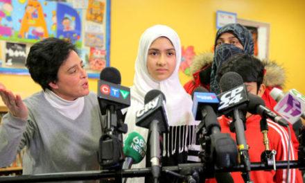 حمله به حجاب دختر ۱۱ ساله دروغ است