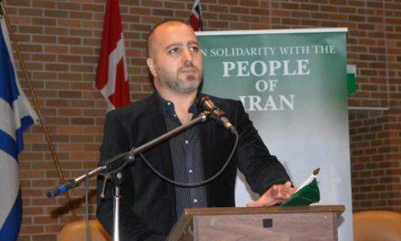 سخنان اشکان یزدچی در پشتیبانی از مبارزات مردم ایران