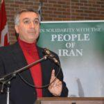 سخنان حمید قاسمی شال در پشتیبانی از مبارزات مردم ایران