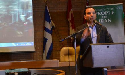 سخنان مایکل لویت در پشتیبانی از مبارزات مردم ایران