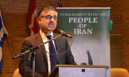 سخنان پیام اخوان در پشتیبانی از مبارزات مردم ایران