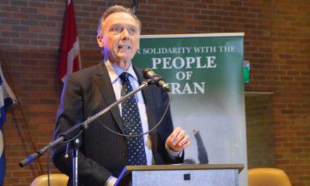 سخنان پیتر کنت در پشتیبانی از مبارزات مردم ایران