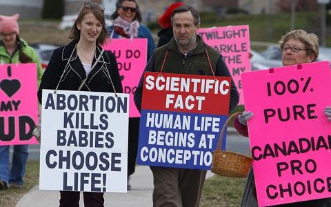 شکایت انجمن مخالف سقط جنین از دولت لیبرال