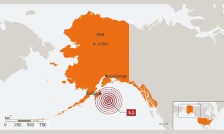 هشدار سونامی برای استان بریتیش کلمبیا در پی زلزله شدید در آلاسکا