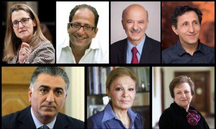 پشتیبانی شخصیت های سیاسی و حقوق بشری از اعتراضات سراسری مردم ایران