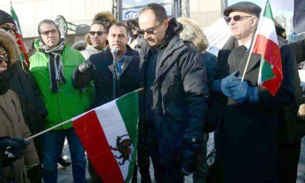 همبستگی ایرانیان تورنتو در سرمای زیر ۳۰ درجه با مردم ایران/سیروس اردشیر