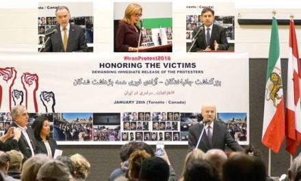 گزارش  مراسم بزرگداشت جانباختگان و درخواست آزادی فوری بازداشت شدگان اعتراضات و خیزش مردم ایران