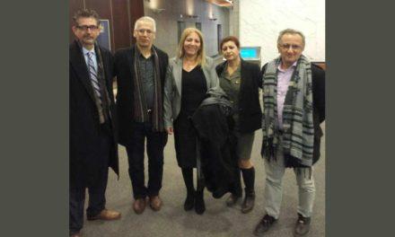 گزارش جلسه ی هیئت نمایندگی کمیته حمایت از مبارزات توده ای برای سرنگونی جمهوری اسلامی با سرکنسولگری آلمان در تورنتو