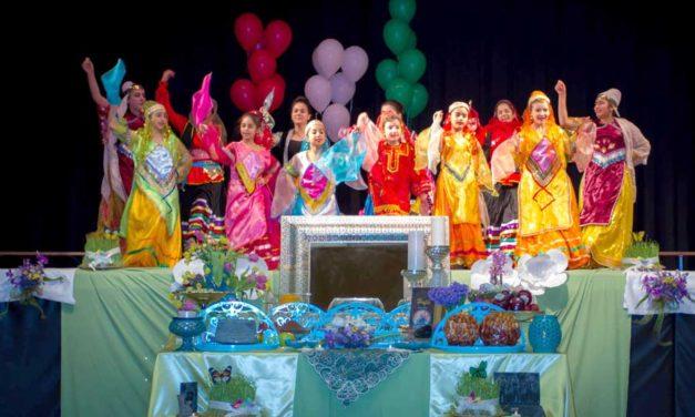 جشن نوروز مدرسه فارسی